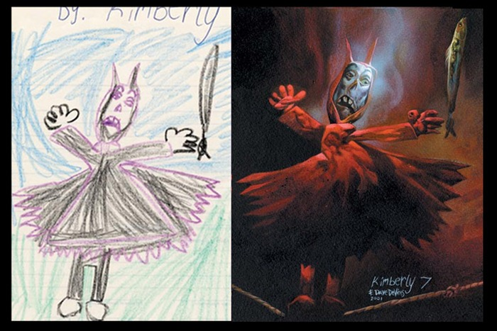 The Monster Engine Children S Drawings Painted Realistically Amusing Planet