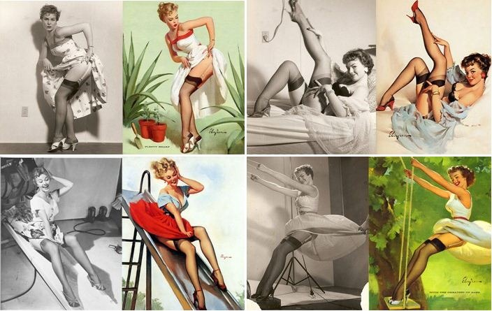 Pin Up Reference Photos