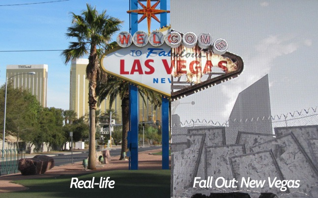 Real-Life Locations in \'Fallout: New Vegas\' Video Game ...