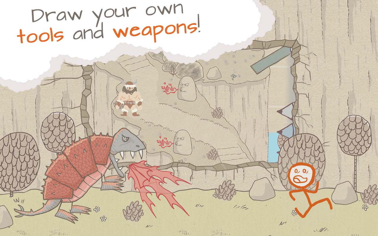 Draw a Stickman: EPIC Free - screenshot