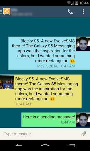 Blocky S5 - for EvolveSMS