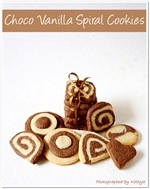 choco vanilla cookies for event