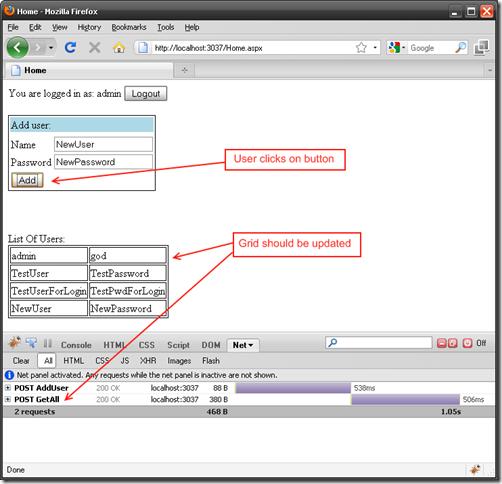 Design of Selenium tests for ASP NET: Testing AJAX  Part 2  Wait for