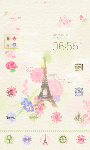Love is dodol launcher theme