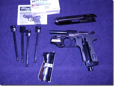Another Airgun Blog: Umarex Walther PPK/S