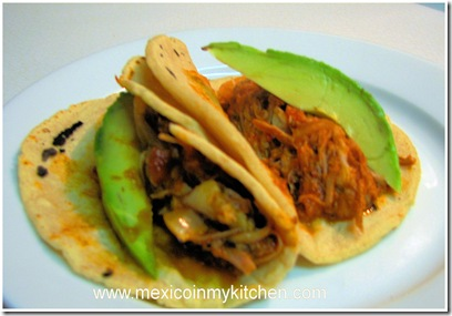 Shredded Pork Meat - Mexican tinga recipe