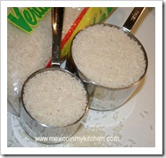 Mexican rice is prepared almost every day in some Mexican homes.