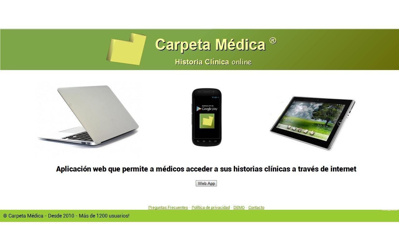 Carpeta Medica ®- screenshot