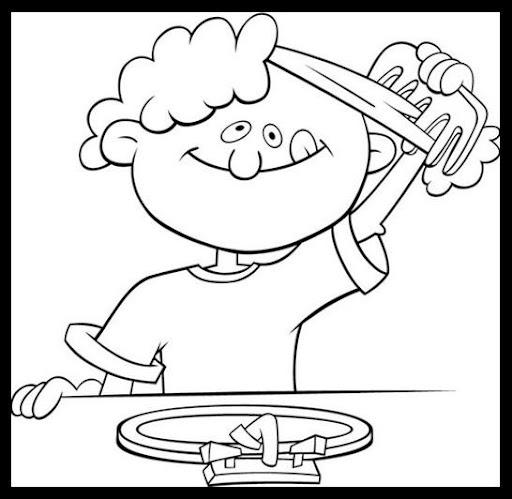 Dibujos Habitos De Higiene Para Pintar Imagui