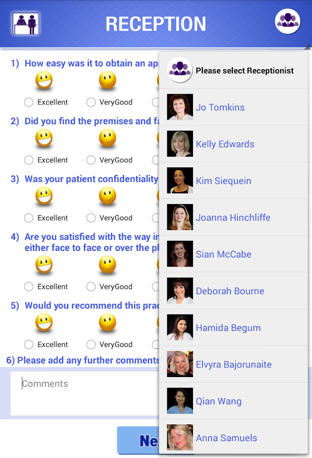 Bluebell Patient Feedback Form Android Apps on Google Play – Patient Feedback Form