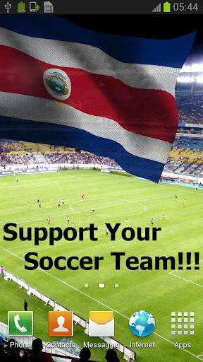 3D哥斯達黎加國旗歌