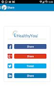 Screenshot of HealthyYou EHR