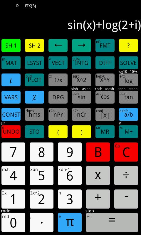 Flat Calculator- screenshot