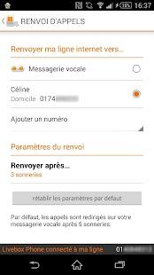 Livebox Phone - screenshot thumbnail