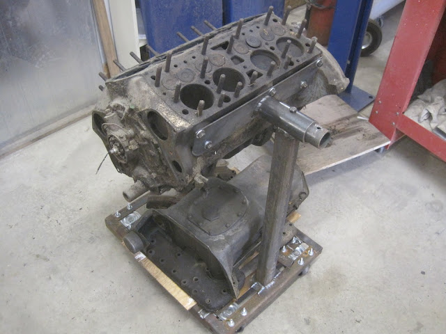 Flathead Engine Stand From Scrap The Garage Journal Board