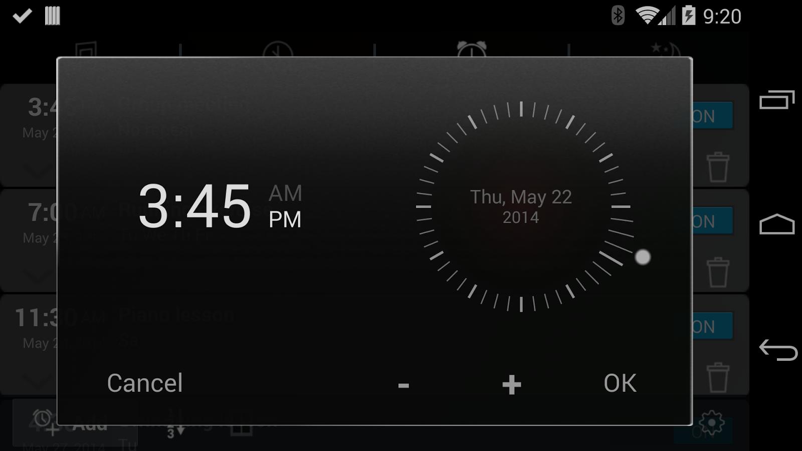 HALE Dreamer Alarm Clock- screenshot