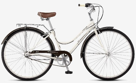 cream ladies 3 speed schwinn