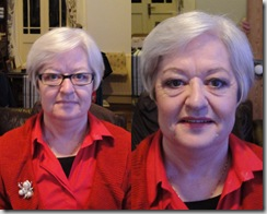 Isobel before after