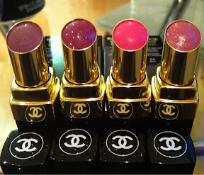 Chanel Rouge Coco Shine Shades 66 61 55 And 54 Get Lippie