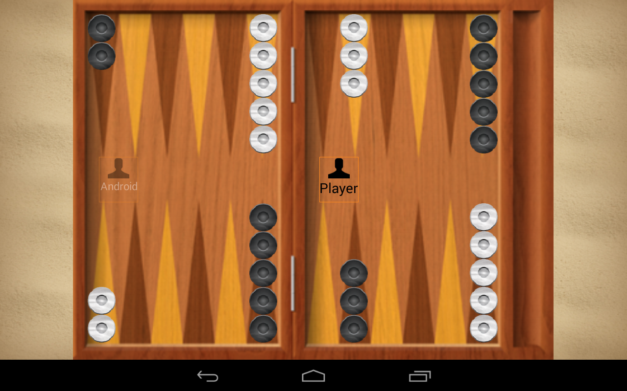 iTavli-Three Backgammon games - screenshot