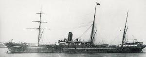 SS PORT FAIRY. Despues vapor DONA MARIA. Del libro PORT LINE. Foto World Ship Society Photograph Library.jpg