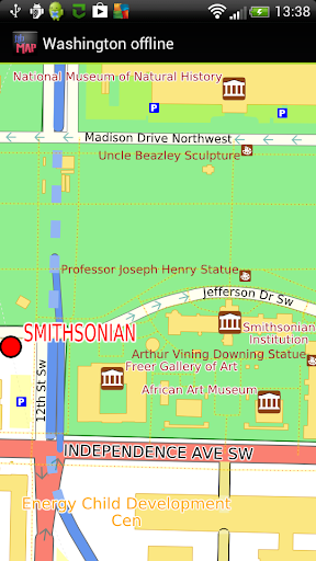 Washington DC offline map