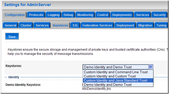 Maxence's technical corner: How to configure WebLogic to use