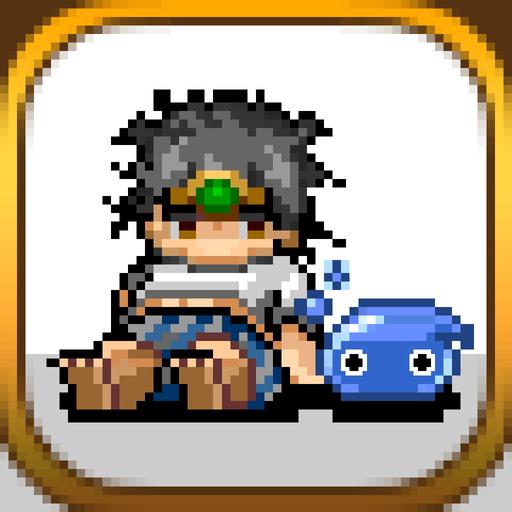 尼特勇者 [放置系點陣RPG]免費的角色扮演遊戲 角色扮演 App LOGO-硬是要APP