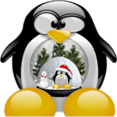 go launcher theme - penguin