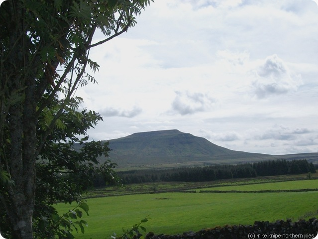 ingleborough from bruntscales