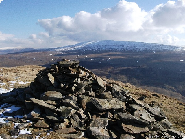 a cairn on calf top