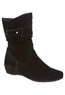 4f95edd954c673 ... kein Problem mit der schwarzen Stiefelette von Tamaris! helle Ziernähte  eingearbeitete Falten Zierriemen Decksohle  Leder Innenmaterial   Textilfutter