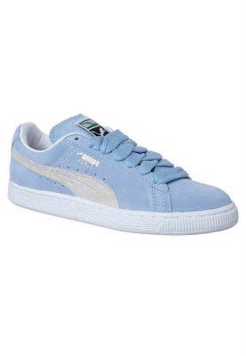 Suede Classic ville Blanc Poudre Bleu Puma Hommes Chaussure qSzVpGUM
