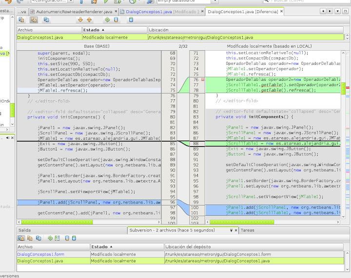 Subversion, Google Code y Netbeans