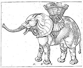 Martin_Schongauer_Elefant-mkbitmap