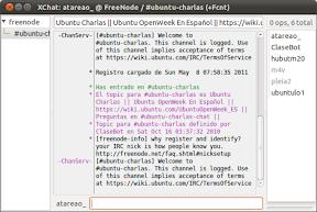 0056_XChat: atareao_ @ FreeNode - -ubuntu-charlas (+Fcnt)