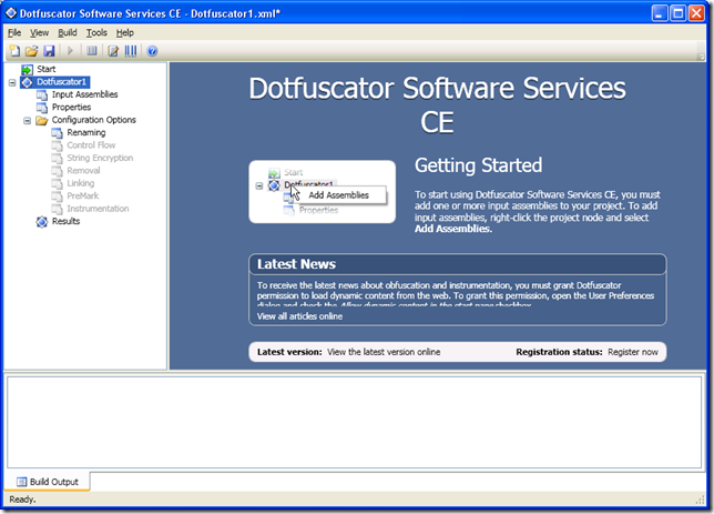 Obfuscation with Dotfuscator    Net Goodies
