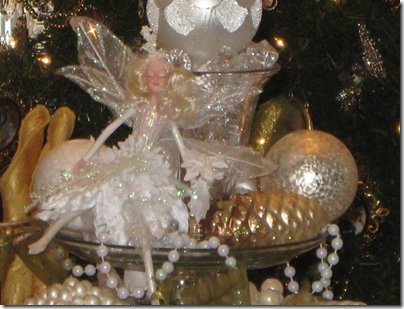 fairy in centerpiece