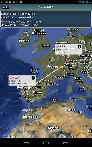 Zurich Airport +Flight Tracker