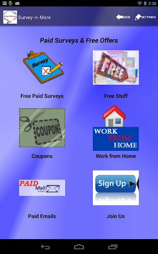 Survey-n-More - Paid Surveys