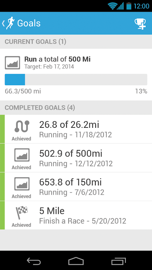 RunKeeper - GPS Track Run Walk - screenshot