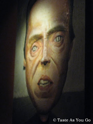 Christopher Walken Painting at Faces & Names in New York, NY | Taste As You Go