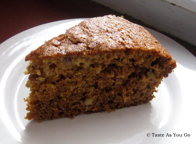 Banana Walnut Bread | Taste As You Go