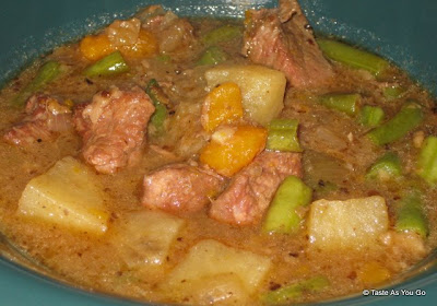 Beef Stew with Sweet Potatoes - Photo by Taste As You Go