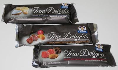 Quaker True Delights Granola Bars - Photo by Taste As You Go