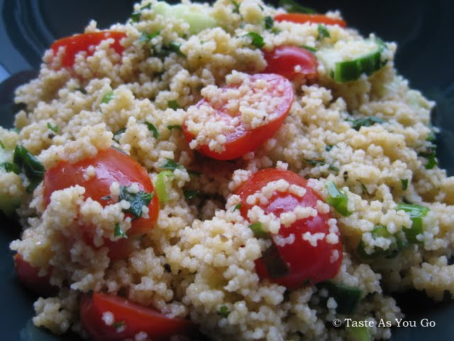 Simple Summer Couscous Salad | Taste As You Go