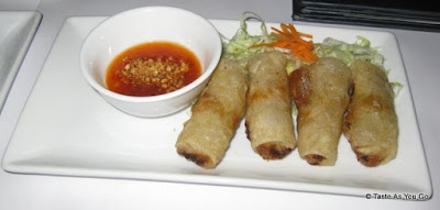 Rhong-Tiam Roll at Rhong Tiam in New York, NY - Photo by Taste As You Go