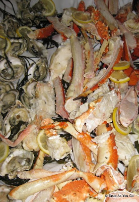 Selection of Fresh Seafood at the Foodbuzz Cocktail Party at David Burke Townhouse | Taste As You Go