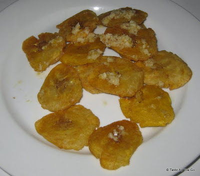 Tostones at Ideya Latin Bistro in New York, NY - Photo by Taste As You Go