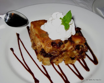 Chocolate Rum Bread Pudding at Ideya Latin Bistro in New York, NY - Photo by Taste As You Go